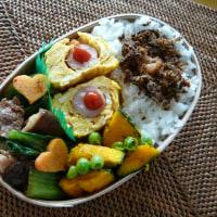 お弁当(豚肉&青梗菜の甘辛炒め)