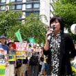 核兵器廃絶を訴える高校生平和大使と国会