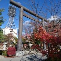 雪の四柱神社