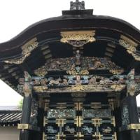 西本願寺国宝唐門をくぐらせていただきました