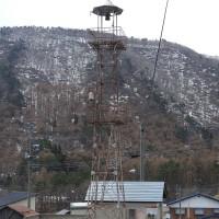 山ノ内町夜間瀬の火の見櫓