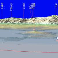 福岡タワー・海だった場所からの眺め~脊振山・油山・麁原山・元寇防塁などなど