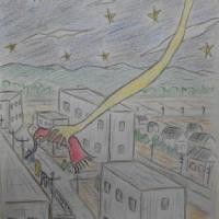 童話のイラストを描きました。