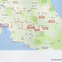 2015年のコスタリカのカレンダー 11  Recordando Mi Puerto