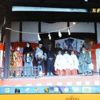 氷川神社にて里神楽
