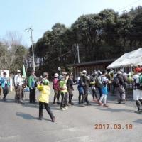2017年3月19日:吉備路の山全山縦走大会第3回がありました。