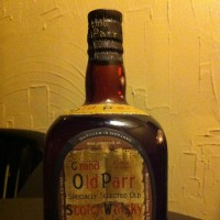 Old Parr Cork cap 1940~1950