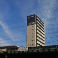 本日大阪・東住吉区・阿倍野区・浪速区壮絶地震雲。近々大阪でも震度5の揺れが、。来年早々大阪市で木造建物多数倒壊の震度6-7の揺れが発生する地震もきそう。
