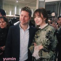 イ・ジョンソク&ハン・ヒョジュ バーバリーイベント参加