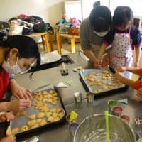 ママと子どもとクッキー作り