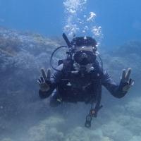 2017年5月沖縄「砂辺海岸」ダイビング