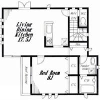 『丘の上に建つデザイナーズアパートメント』