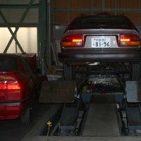GTV6  納車前、各部点検