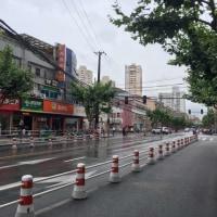 雨季の上海