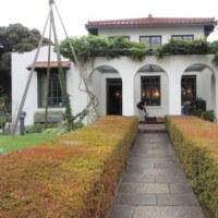 ハロウィン装飾の横浜山手西洋館(山手111番館)港の見える丘公園 4