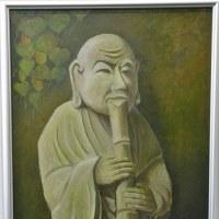 「精神統一」[油彩Mー20号)