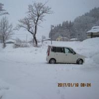 雪が詰り山歩きが出来る様に・・・しかし、雪崩の危険性が・・・ブログ更新しました!