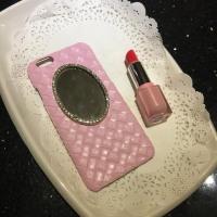 鏡 クリスタル 編み カバー 便利 耐衝撃 超薄型 iphone6s ケース 人気