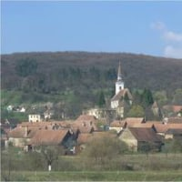 ルーマニアの山村