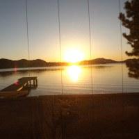 浜名湖北岸、日の出