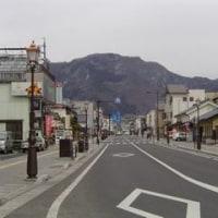 信州松代の街なかから眺める奇妙山
