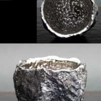 プラチナ彩岩ぐい呑