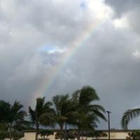 虹を見ると