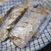 太刀魚の塩焼きと麻婆茄子でごはん