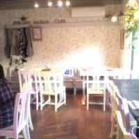 ママンカフェの店内の様子