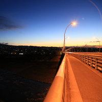 170114上毛大橋からの朝日