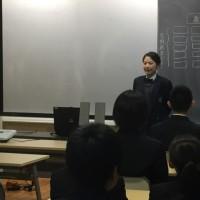 2年職場体験学習発表会選抜編