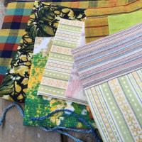 ブックカバーをお気に入りのシンガー足踏みミシンで縫う