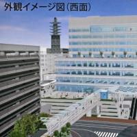 藤沢市新庁舎工事近況報告④西面
