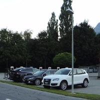 スイス旅行2日目マイエンフェルト ハイジホテル 朝散策 №2
