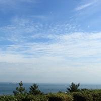 明石海峡は曇ってた