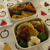お弁当(焼きロール白菜)
