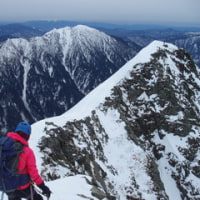 北アルプス 西穂高岳 氷雪技術講習登山/じっくりプラン
