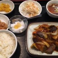 小作・香満園 麻婆茄子定食
