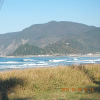 10月29日の日本海の波