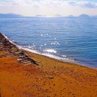 水島灘キラキラと