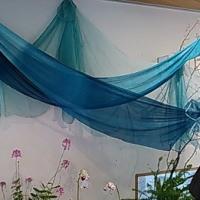 裂き織り講座と草木染織展