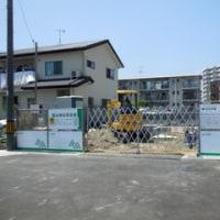広島県福山市野上町2丁目16・住友林業による新築工事現場