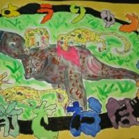 生徒さんの1年間の作品(小学3年生)・・・2年生~3年生へ