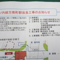 丸ノ内線方南町駅工事近況(平成29年2月22日)
