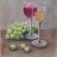 ワインと葡萄と・・・ F(6)