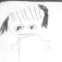 娘(小)の絵