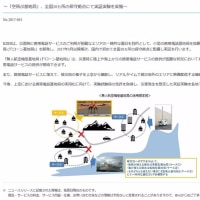 KDDIが災害対策用の空飛ぶ基地局を配備開始