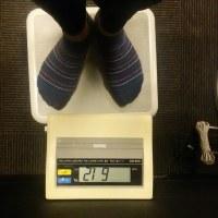 今日の体重 61.2