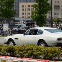 Aston Martin V8 1972- フロントが大幅に変更されたアストン マーチン V8