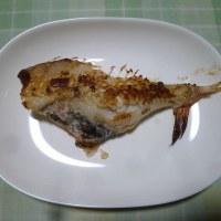 夕飯は赤魚粕漬けでした